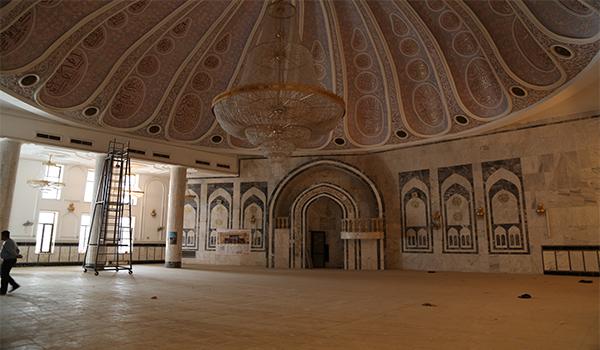 الدائرة الهندسية تنجز أعمال تأهيل مرقد سيد سلطان علي في العاصمة بغداد