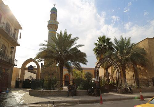 الدائرة-الهندسية-تنجز-أعمال-تأهيل-مرقد-سيد-سلطان-علي-في-العاصمة-بغداد4