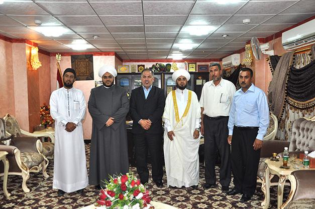 أوقاف المنطقة الجنوبية تستقبل عضو مجلس محافظة البصرة أمين منصور (1)
