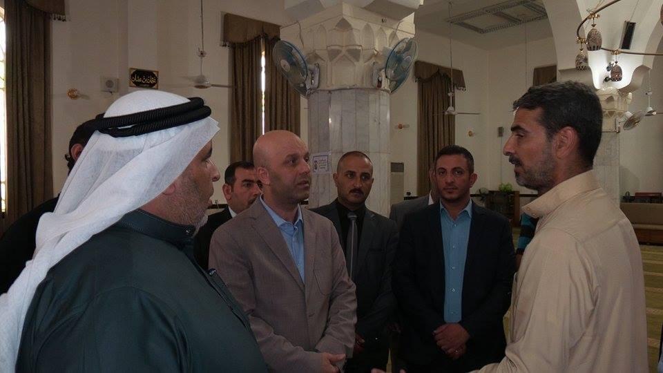 العوائل النازحة نشكر الدكتور عبد اللطيف الهميم على حملته الأنسانية  (2)