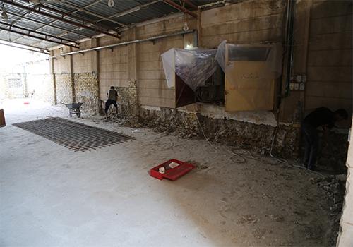 الدائرة-الهندسية-تقوم-بأعمال-صيانة-جامع-العساف-في-بغداد2