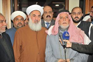 الدكتور الهميم يلتقي الشيخ الدكتور مهدي الصميدعي ويبحث معه آخر المستجدات (1)