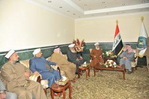 الدكتور الهميم يلتقي الشيخ الدكتور مهدي الصميدعي ويبحث معه آخر المستجدات (2)