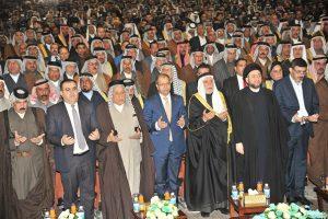 ديوان الوقف السني يحتضن اكبر مؤتمر لشيوخ العشائر والقبائل العراقية بجامع أم القرى ببغداد (1)