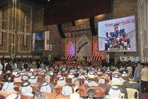 ديوان الوقف السني يحتضن اكبر مؤتمر لشيوخ العشائر والقبائل العراقية بجامع أم القرى ببغداد (2)