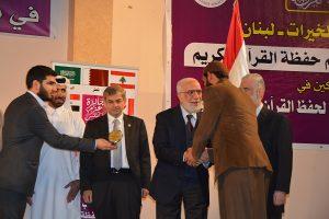 وفد من المركز العراقي للقرآن الكريم يشارك في جائزة عزم طرابلس (1)