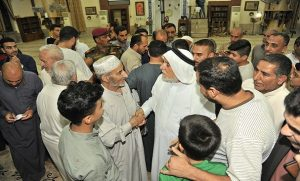 الدكتور الهميم يزور جامع الحسنين في منطقة العامرية (1)
