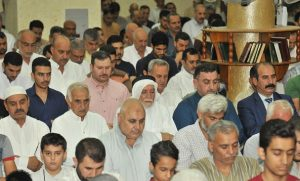 الدكتور الهميم يزور جامع الحسنين في منطقة العامرية (2)